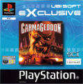 Carmageddon PlayStation Front Cover