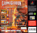 Carmageddon PlayStation Back Cover
