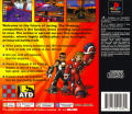 Firebugs PlayStation Back Cover