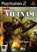 Conflict: Vietnam PlayStation 2 Front Cover