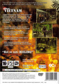 Conflict: Vietnam PlayStation 2 Back Cover