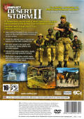Conflict: Desert Storm II: Back to Baghdad PlayStation 2 Back Cover