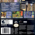 The Sims 2 Game Boy Advance Back Cover