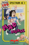 Mad Nurse ZX Spectrum Front Cover