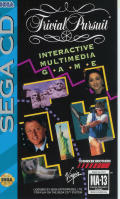 Trivial Pursuit Interactive Multimedia Game SEGA CD Front Cover