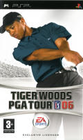 Tiger Woods PGA Tour 06 PSP Front Cover