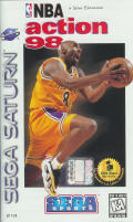 NBA Action 98 SEGA Saturn Front Cover
