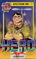 H.E.R.O. ZX Spectrum Front Cover
