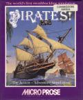 Sid Meier's Pirates! Amiga Front Cover