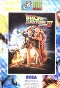 Back to the Future Part III SEGA Master System Front Cover