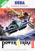 Power Strike II SEGA Master System Front Cover