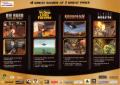 Action Pack - 4 Killer Action Games! Windows Back Cover