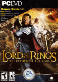 The Lord of the Rings: The Return of the King Windows Front Cover