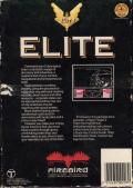 Elite ZX Spectrum Back Cover