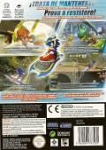Sonic Riders GameCube Back Cover