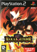 Makai Kingdom: Chronicles of the Sacred Tome PlayStation 2 Front Cover