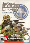 Tom Clancy's Ghost Recon: Island Thunder Windows Front Cover