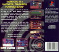 James Pond 2: Codename: RoboCod PlayStation Back Cover