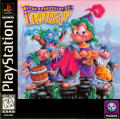 The Adventures of Lomax PlayStation Front Cover
