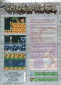 Chuck Rock Game Gear Back Cover
