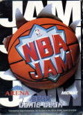 NBA Jam Game Gear Front Cover
