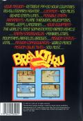BreakThru Commodore 64 Back Cover