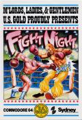 Fight Night Commodore 64 Front Cover