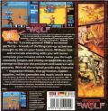 Operation Wolf Commodore 64 Back Cover Jewel Case packaging
