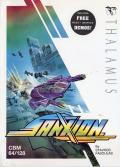 Sanxion Commodore 64 Front Cover