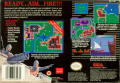 Rampart SNES Back Cover