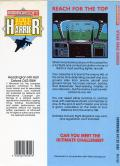 Strike Force Harrier Commodore 64 Back Cover