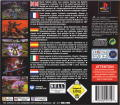 Pitball PlayStation Back Cover