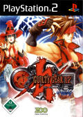 Guilty Gear X2: The Midnight Carnival #Reload PlayStation 2 Front Cover