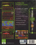 Supercars International DOS Back Cover