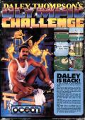 Daley Thompson's Olympic Challenge Atari ST Back Cover
