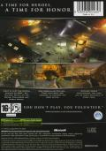 Medal of Honor: European Assault Xbox Back Cover