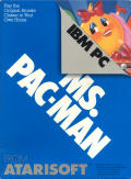 Ms. Pac-Man PC Booter Front Cover