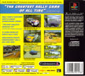 Colin McRae Rally PlayStation Back Cover