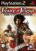 Prince of Persia: The Two Thrones PlayStation 2 Front Cover