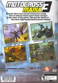 Motocross Mania 3 PlayStation 2 Back Cover