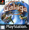 Galaga: Destination Earth PlayStation Front Cover