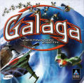 Galaga: Destination Earth Windows Other Jewel Case - Front