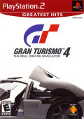 Gran Turismo 4 PlayStation 2 Front Cover