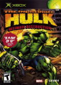 The Incredible Hulk: Ultimate Destruction Xbox Front Cover
