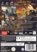 The Lord of the Rings: The Return of the King GameCube Back Cover