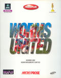 Worms United DOS Front Cover