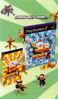 Ape Escape: On the Loose PSP Inside Cover Left
