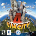 SimCity 4 Macintosh Other Jewel Case - Front