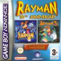 Rayman 10th Anniversary Game Boy Advance Front Cover
