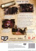 The Da Vinci Code PlayStation 2 Back Cover